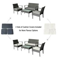 Shop for Small Patio Furniture Set Outdoor Wicker Porch ...