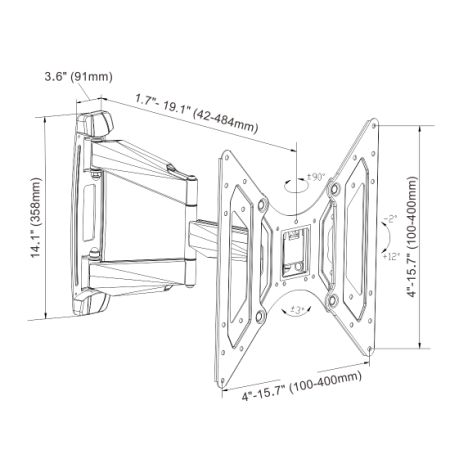 Shop for Loctek O2M Outdoor Heavy Duty Articulating