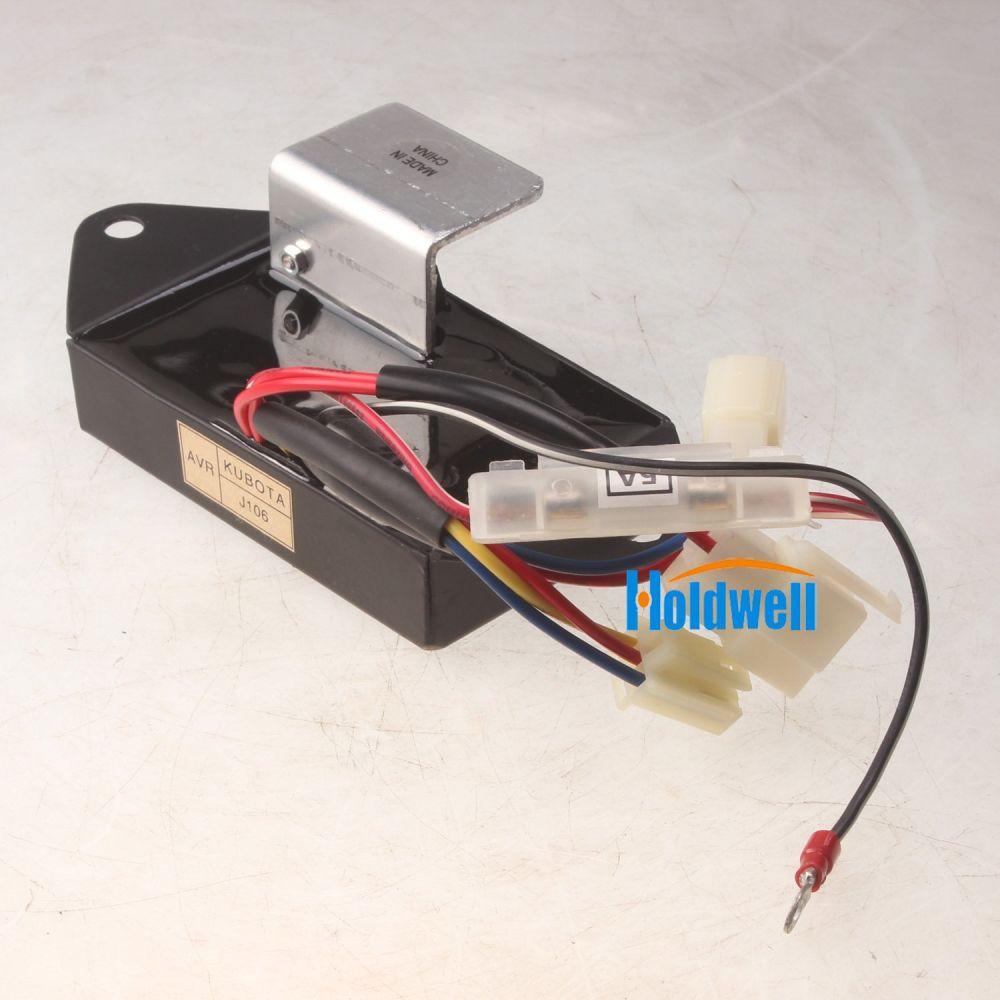 hight resolution of shop for holdwell automatic voltage regulator avr for kubota generator j106 220v at wholesale price on crov com