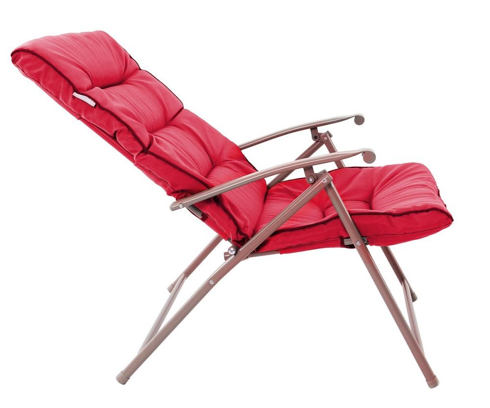 patio folding chairs padded back chair shop for phi villa 3 pc soft set cushioned outdoor furniture red at wholesale price on crov com