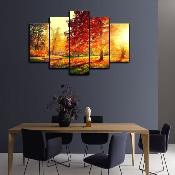 sureart framed canvas painting