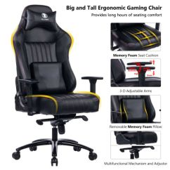 Chair Design Back Angle Kmart Patio Chairs Shop For Killabee Big And Tall 400lb Memory Foam Gaming Adjustable Tilt
