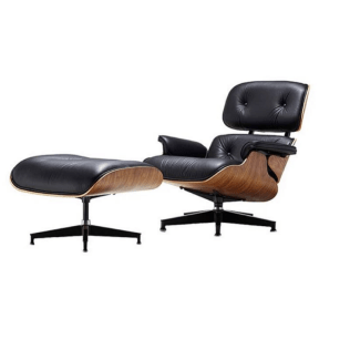 eames chair replica swivel it shop for classic furniture breathable flocked leather curved plank aluminum feet leisure lounge