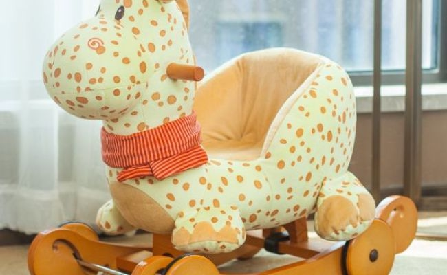Shop For Labebe Baby Wooden Rocking Horse 2 In 1 Yellow