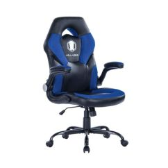 Mesh Gaming Chair Lounge Dimensions Shop For Von Racer Racing Style Flip Up Arms Ergonomic Leather Computer