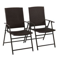 Folding Chair Portable Club Recliner Leather Shop For Phi Villa 2pcs Patio Foldable Rattan Garden Balcony Dining Furniture