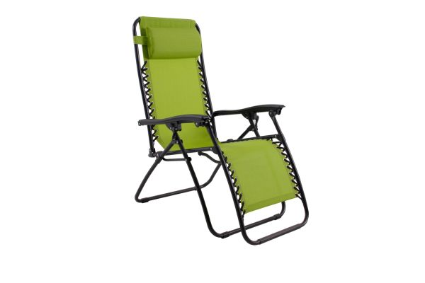 patio folding chairs padded healthmark inversion chair shop for phi villa zero gravity lounge foldable adjustable reclining outdoor yard porch green