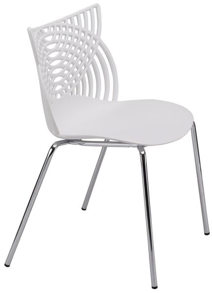 outdoor restaurant chairs steel chair price in nepal shop for ottiti modern dining set of 2 stackable birch sapling accent armless side mid century indoor with tube legs