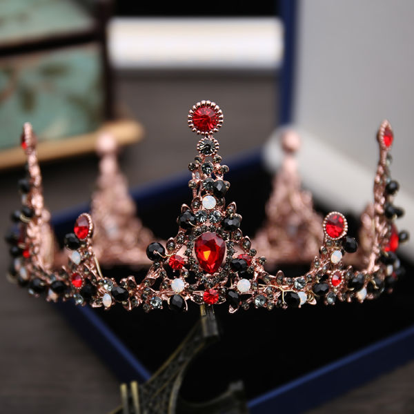 anituqe baroque wedding crowns