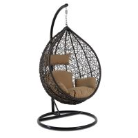 Shop for Single Seat Garden Patio Swing Hanging Chair with ...
