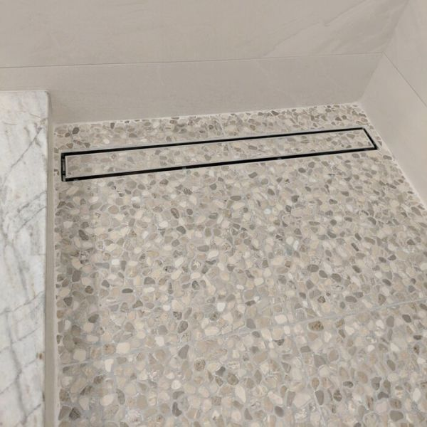 neodrain 36 inch linear shower drain with tile insert grate 1 piece box