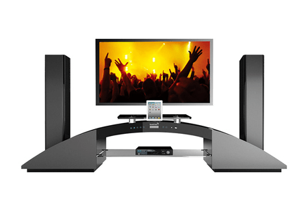 meubles tv soundvision sv 2900b noir