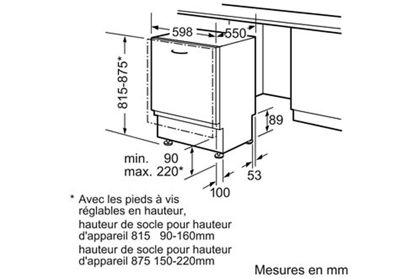 Montage Porte Lave Vaisselle Encastrable Siemens Iq300 Lave