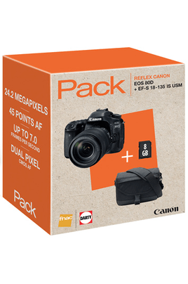 Reflex Canon PACK EOS 80D + EF-S 18-135 IS USM + FOURRE-TOUT + SD 8GO Canon EOS 7D Mark II [x] Canon EOS 7D Mark II Digital SLR Camera (Body Only) International Version (No warranty) canon eos 80d 18 135 d1703304308611A 154459907