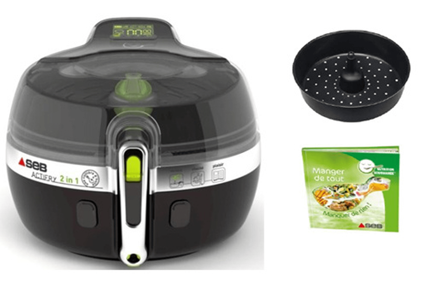 Nav Achat Petit Electromenager Cuisson Quotidienne Friteuse Seb Zv Actifry L