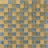 crystal glass backsplash tiles british grid glass mosaic ...