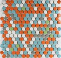 porcelain tile backsplash kitchen glazed ceramic mosaic ...