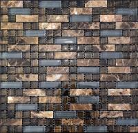 glass stone mosaic tile natural stone & glass interlocking ...
