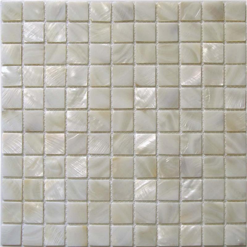 mother of pearl tile backsplash wall sticker shell mosaic