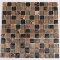 Stone glass mosaic tile sheets kitchen backsplash tiles ...