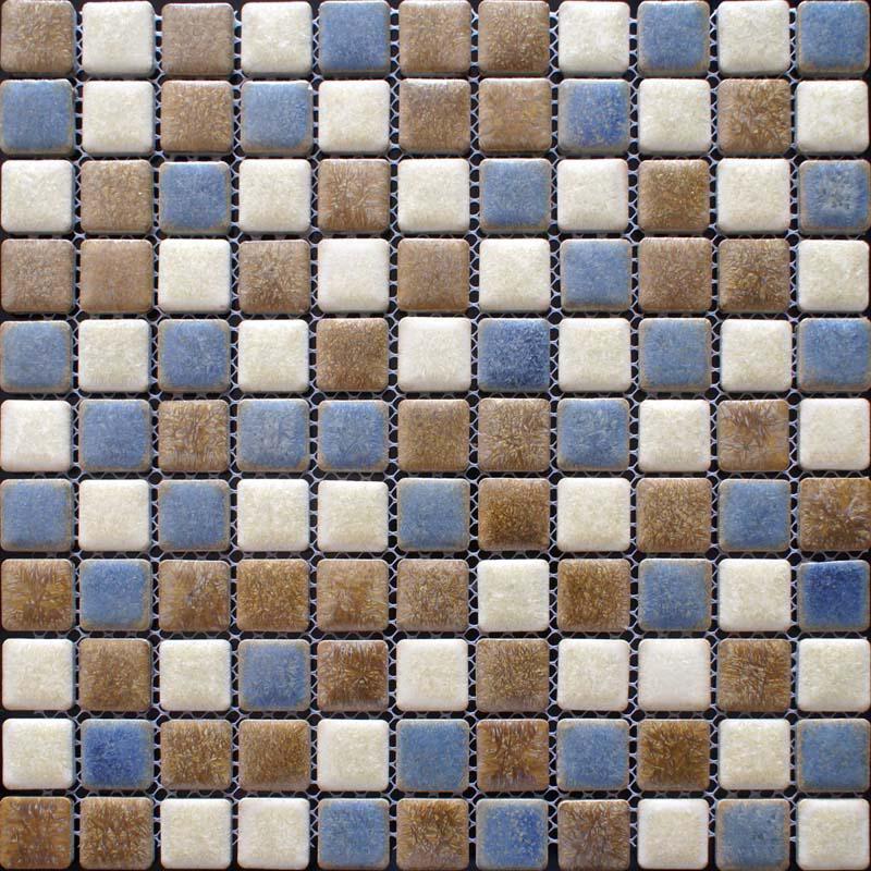 Porcelain Mosaic Floor Tiles Pattern Backsplash