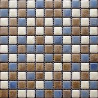Porcelain Mosaic Floor Tiles Pattern Backsplash | Hominter.com