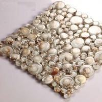 Wholesale Mosaic Tile Crystal Glass Shell Tile Backsplash