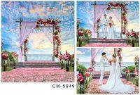 3X4m For Wedding Photos Photography Vinyl Backdrop ...