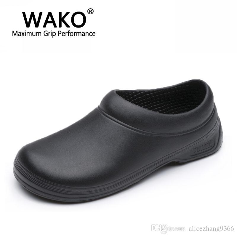 kitchen shoes how to adjust cupboard hinges 2019 wako 9021 male chef men cook sandals safety the following is model 9031