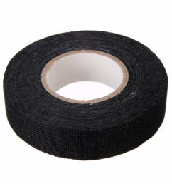 1pc wiring harness tape strong adhesive cloth fabric tape for looms cars 19mm x 15m [ 1080 x 1080 Pixel ]