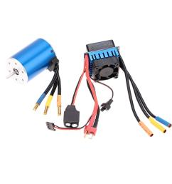 2019 3650 3100kv 4p sensorless brushless motor with 60a brushless escelectric speed controllerfor 1 10 rc car truck order 18no track from nicel co ltd  [ 1000 x 1000 Pixel ]