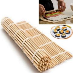 Home Kitchen Equipment Knife Magnet Sushi Tools Diy Rolling Roller Mat Maker Bamboo Material Gadgets Rolls Wrapped By Dry Seaweed Sheets Easy Use Canada 2019