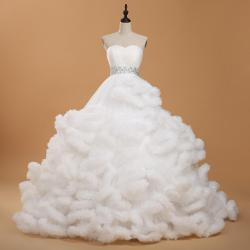 8d8207444a Cinderella Flower Girl Dresses Jcpenney. 2015 Real Picture Cloud Long Tail  Luxury Wedding Dress Sweetheart