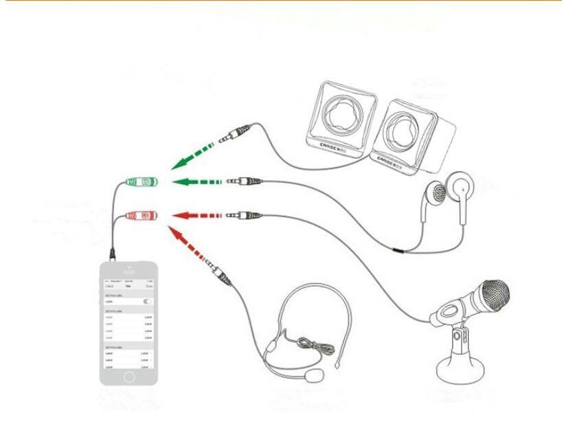 New Mini Microphone Mobile Phones Sing KTV Condenser