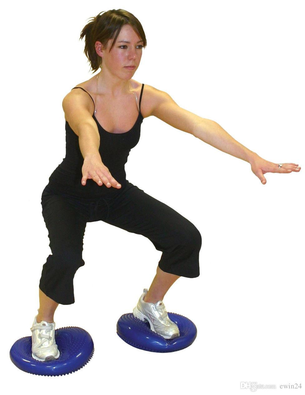 portable wobble chair exercises kid bean bag chairs target 2017 inflatable yoga stability balance disc massage cushion mat ball wheel pad from ...