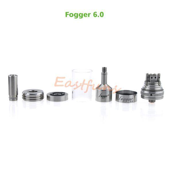 2015 Newest Fogger 6.0 Atomizer Rta Fogger 6.0 Tank