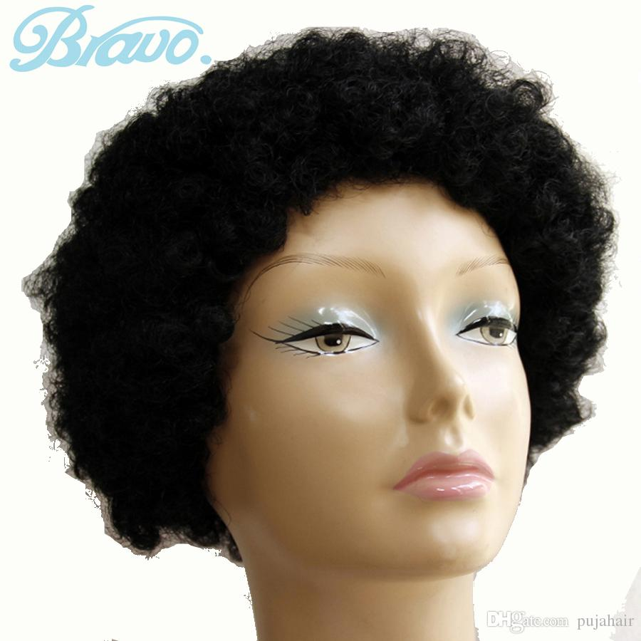 Synthetic Hair Cosplay Wigs Black Afro Kinky Curly Wigs