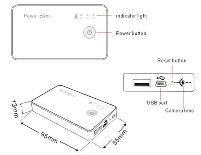2019 Motion Detection CCTV H.264 1080P WiFi Remote