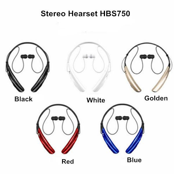 2015 HBS750 HBS 750 Bluetooth Stereo Headset Wireless