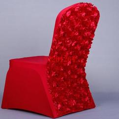 Will Folding Chair Covers Fit Banquet Chairs Dining Home Goods Fashion Rose Satin Spandex Lycra Cover For Weddings Hotel Decoration And Ottoman Slipcover Wedding To Buy From