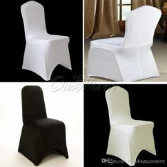 Ivory Chair Covers Spandex Venues Hot Sale Black White Stretch Cover Lycra For Us 1 15 3 82 Piece