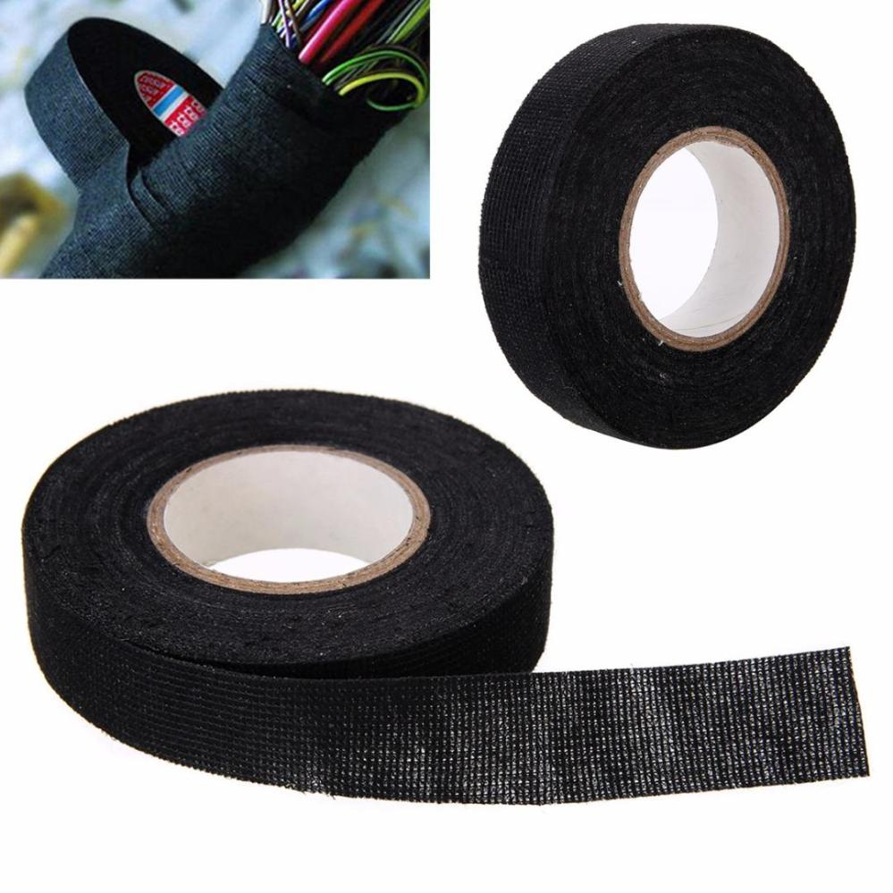 medium resolution of 1pc heat resistant wiring harness tape looms wiring harness cloth fabric tape adhesive cable protection