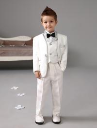 New Arrivals One Button White Boy'S Formal Wear Occasion ...
