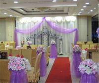 18 X 120 Yards Wedding Organza Tulle Centerpieces Chair ...