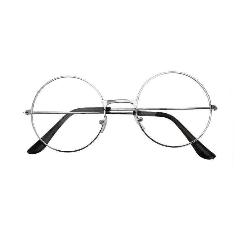 2020 Unisex Retro Round Circle Metal Frame Eyeglasses