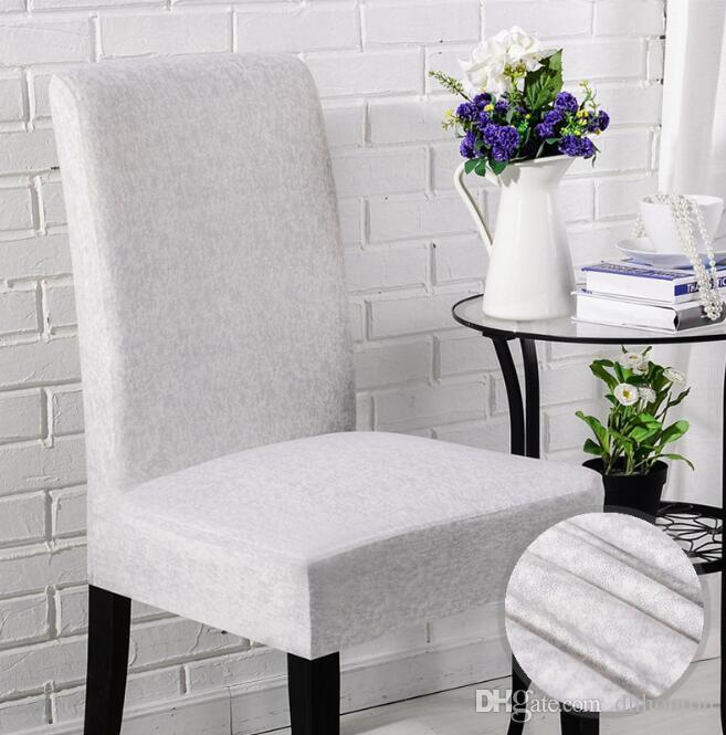 white linen chair covers for sale pilates wunda plain universal size simple and short family hotel computer dining elastic wedding chairs