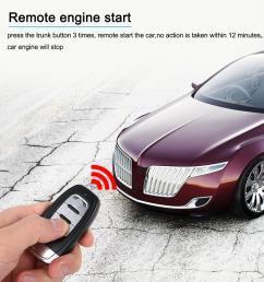 2019 auto car alarm engine start stop button remote start open and close windows version smart key pke passive keyless entry system from renhuai888  [ 1000 x 1000 Pixel ]