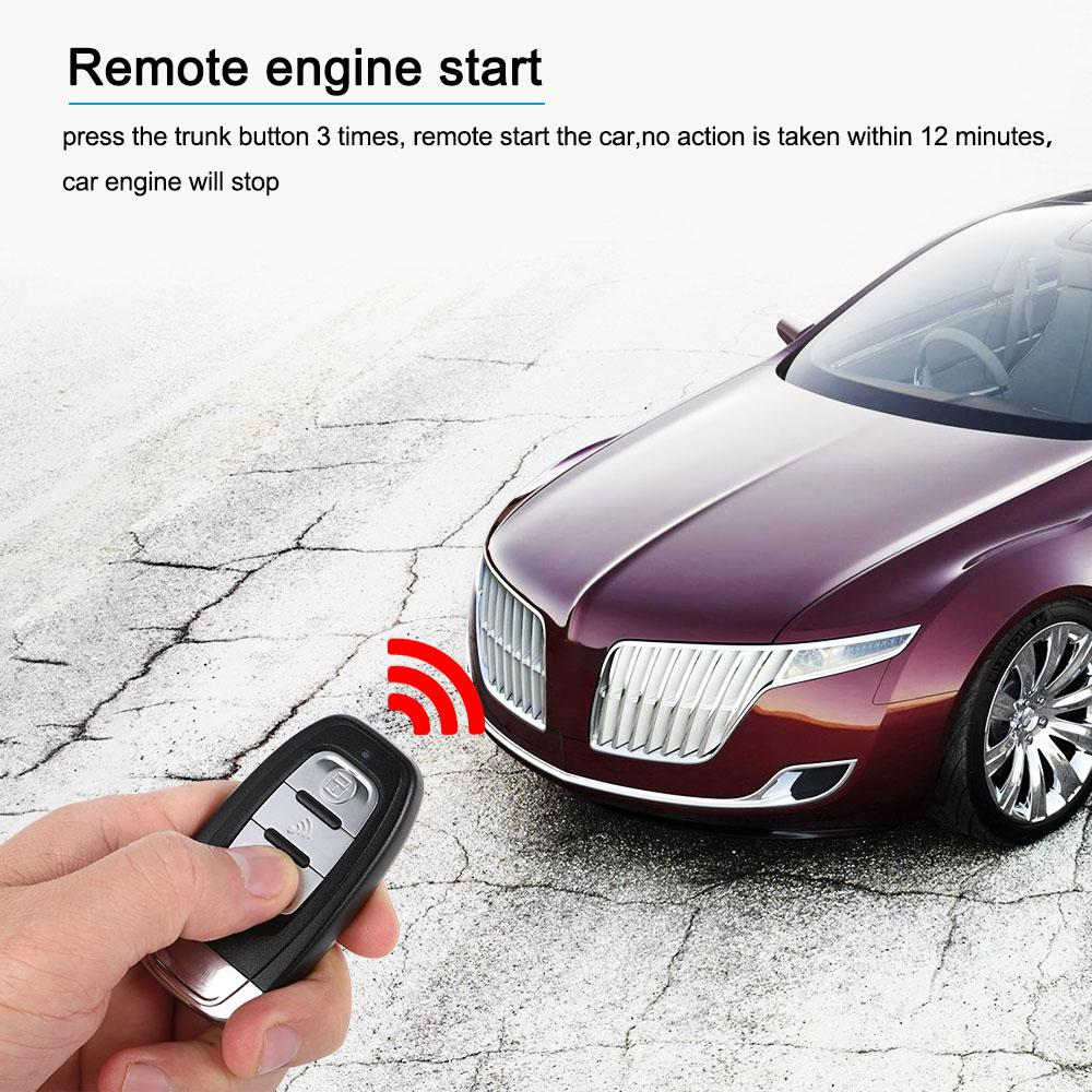 medium resolution of 2019 auto car alarm engine start stop button remote start open and close windows version smart key pke passive keyless entry system from renhuai888