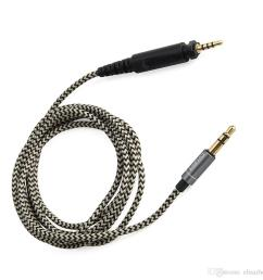 2019 audio cable earphone cable cords braided wires replacement for over ear headphone shure srh440 srh840 srh940 dj750 headset from elisazhou  [ 1000 x 1000 Pixel ]