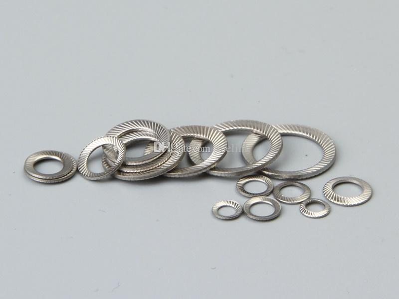 2020 M3 M20 Safety Lock Washer Ribbed Washer Stainless